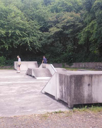Skateranlage in Hude