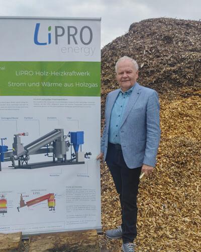 Lipro Holz-Heizkraftwerk
